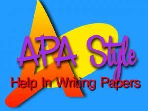 Thesis apa citation